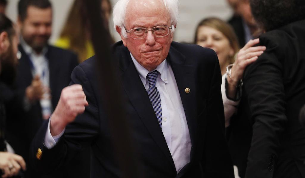 Aventaja Sanders a Buttigieg en primarias demócratas