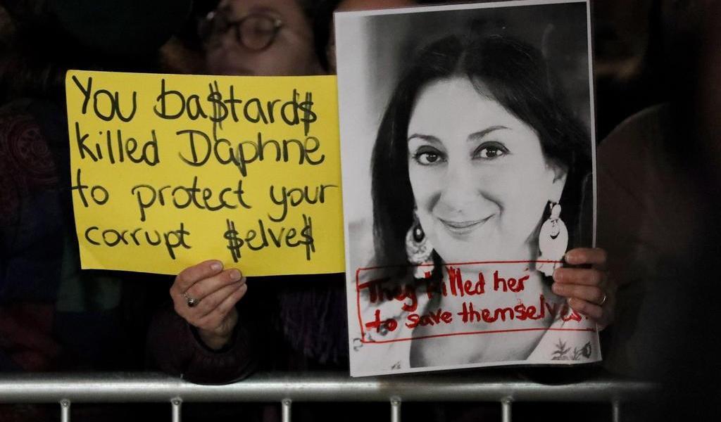 Investiga Francia negocios de sospechosos del asesinato de periodista maltesa