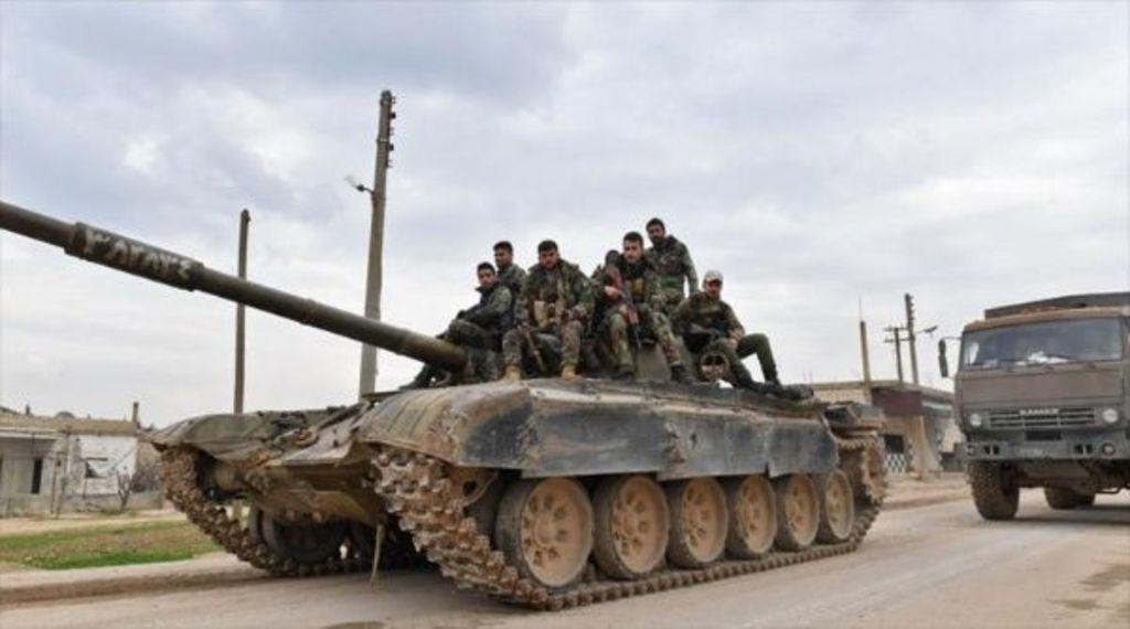 Tropas de Siria avanzan en Alepo