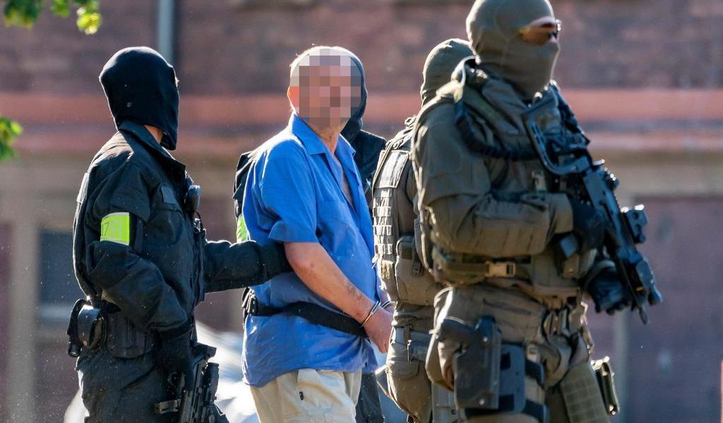 Ultraderechistas alemanes son detenidos
