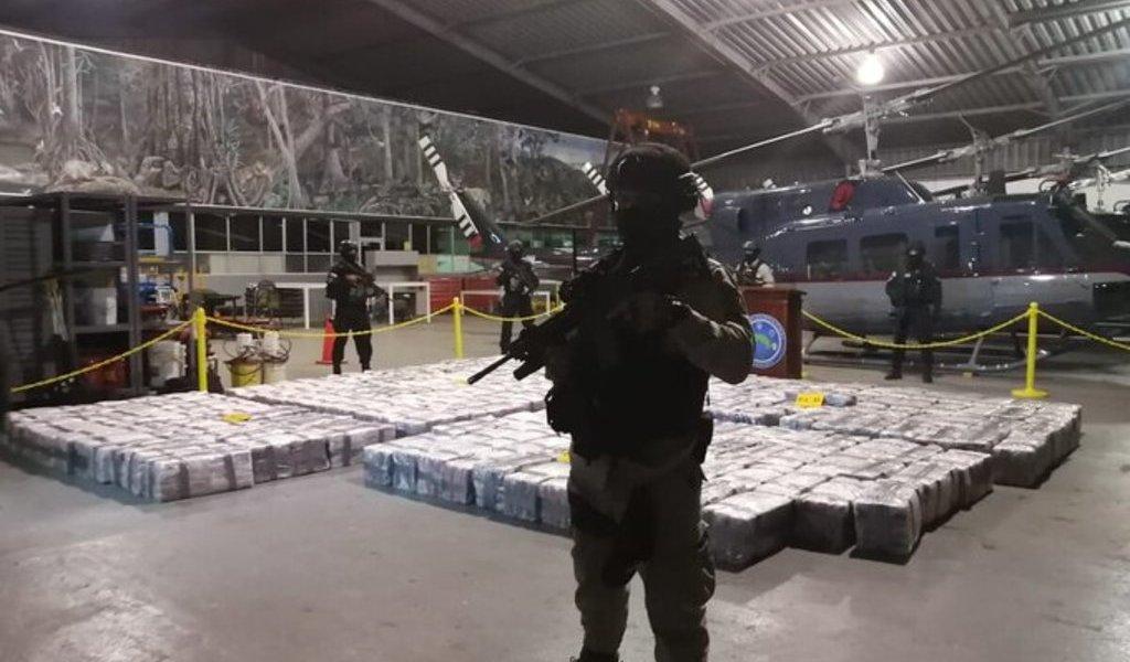 Decomiso histórico de droga en Costa Rica