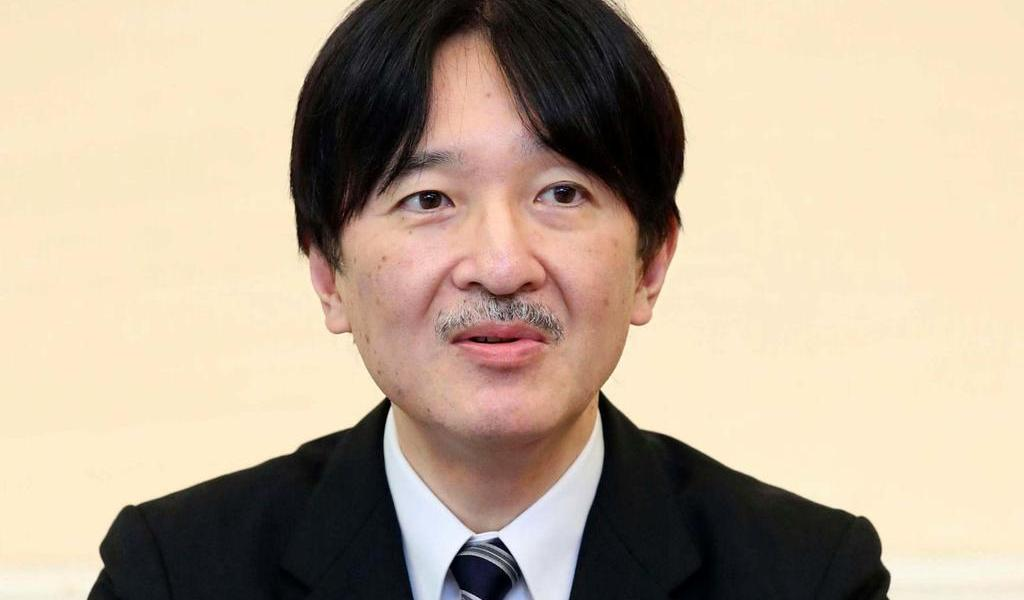Japón alista investidura de Fumihito como príncipe heredero