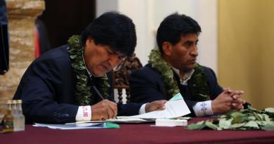 Aprehenden en Bolivia a otro exministro de la etapa de Evo Morales