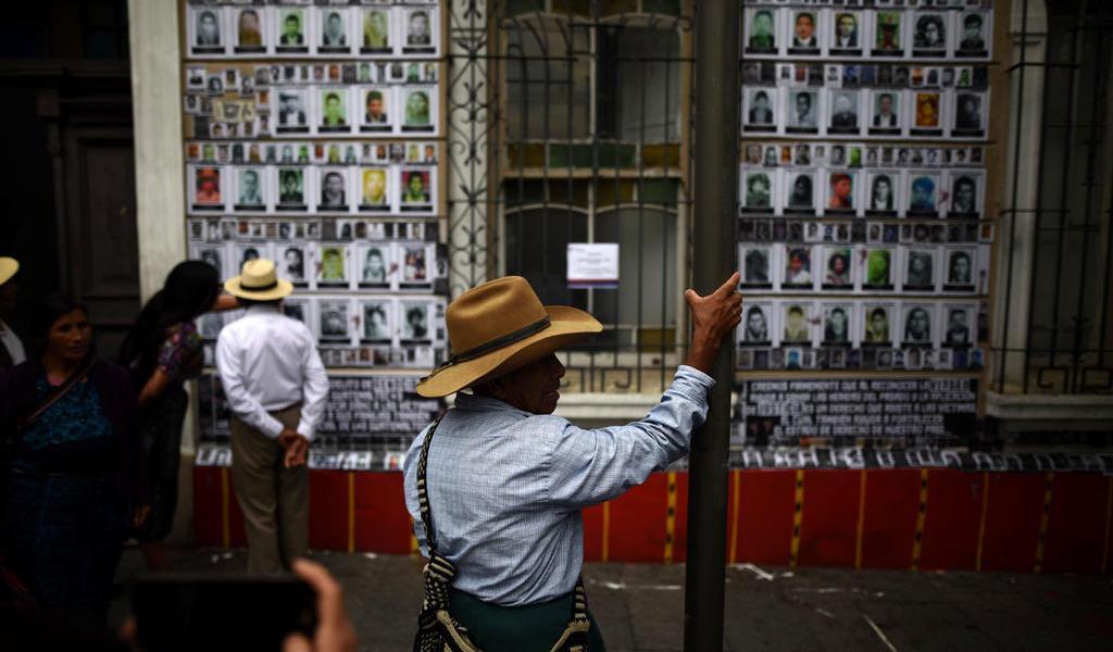 Recuerda Guatemala a sus desaparecidos en la guerra civil