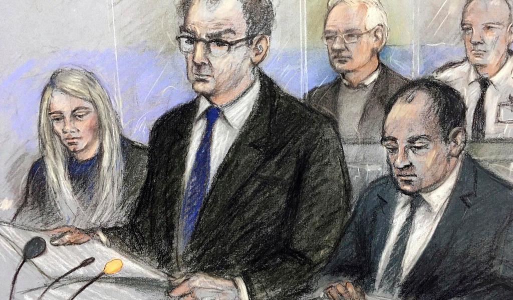 Acusa Assange a EUA de 'abuso de proceso' por incumplir tratado extraditorio