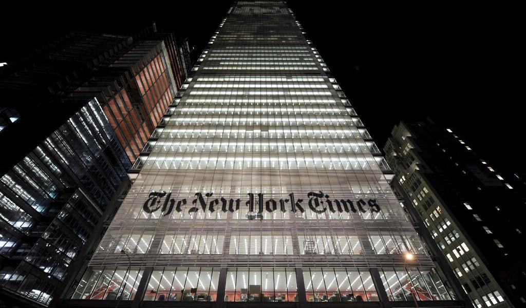 Demanda Trump al New York Times por difamación