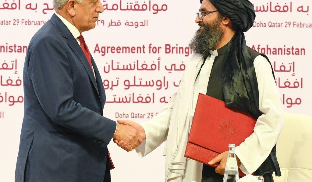 Catar, mediador 'paciente' con EUA y talibanes