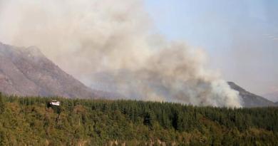 Consume incendio 11,500 hectáreas en Chile; genera protestas
