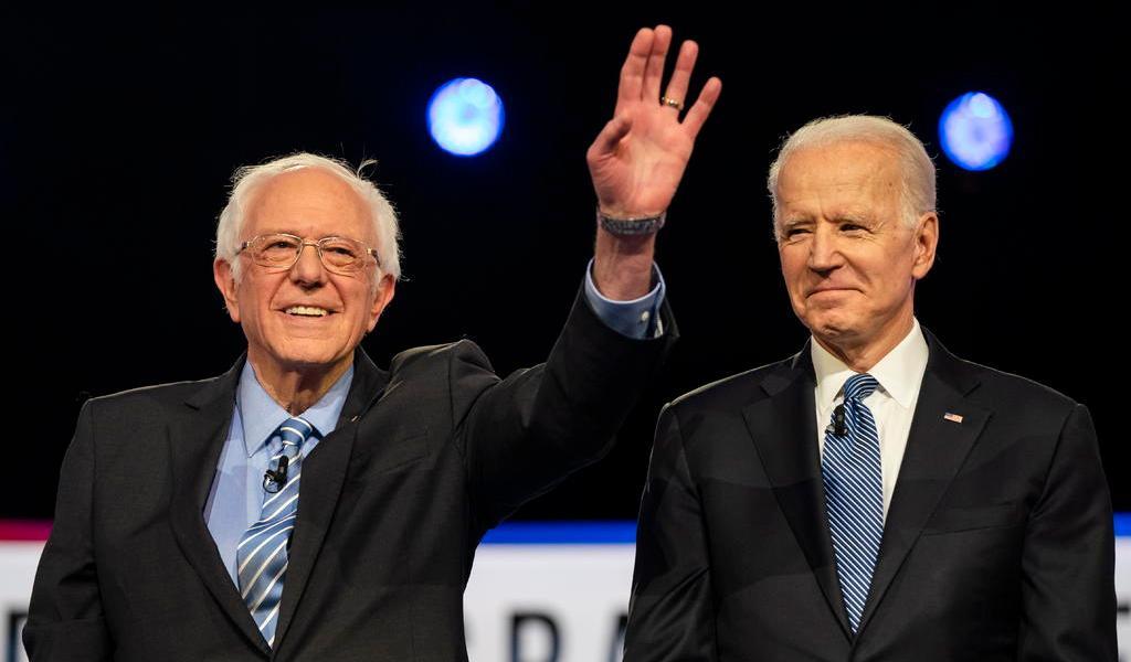 Supermartes en EUA reduce el campo virtualmente a Biden y Sanders