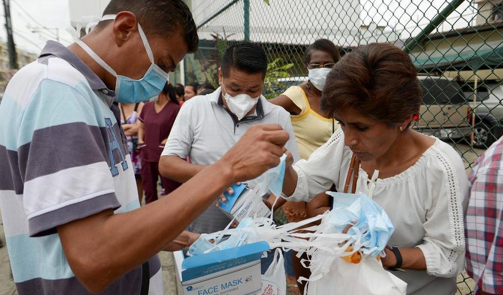 Suman diez los casos confirmados de coronavirus en Ecuador
