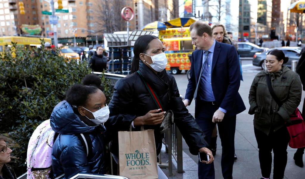 Mil personas están en cuarentena por sospecha de COVID-19 en Nueva York