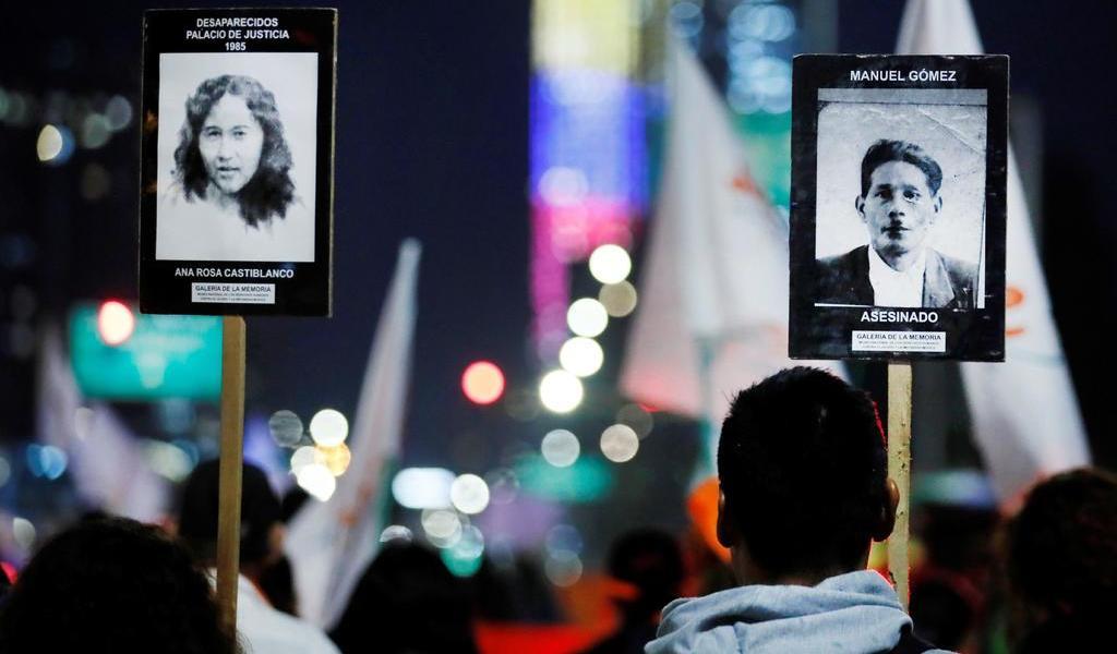 Piden justicia por los desaparecidos