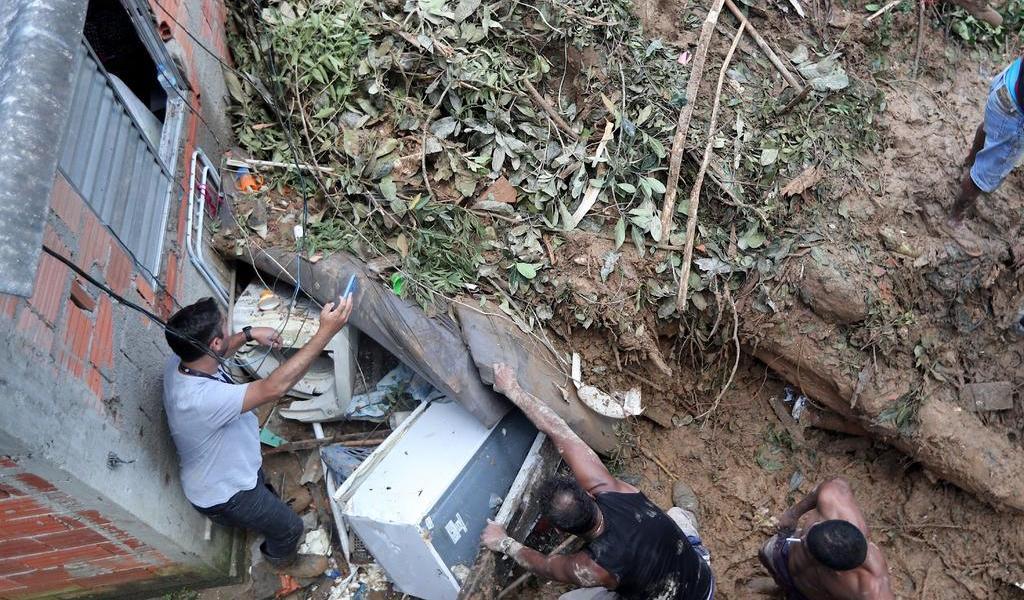 Aumenta a 39 el número de muertos por lluvias en Brasil