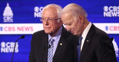 Sanders y Biden intensifican ataques