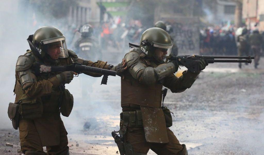 Un muerto producto de la represión en Chile