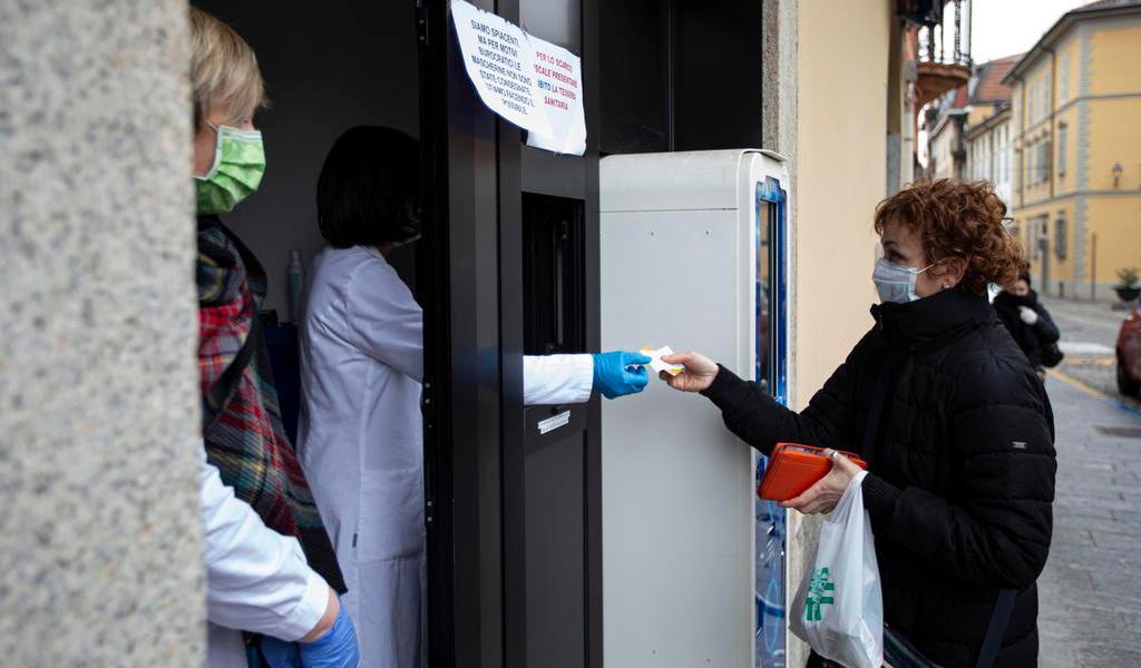 Italia no descarta 'un bloqueo general' ante el avance del coronavirus
