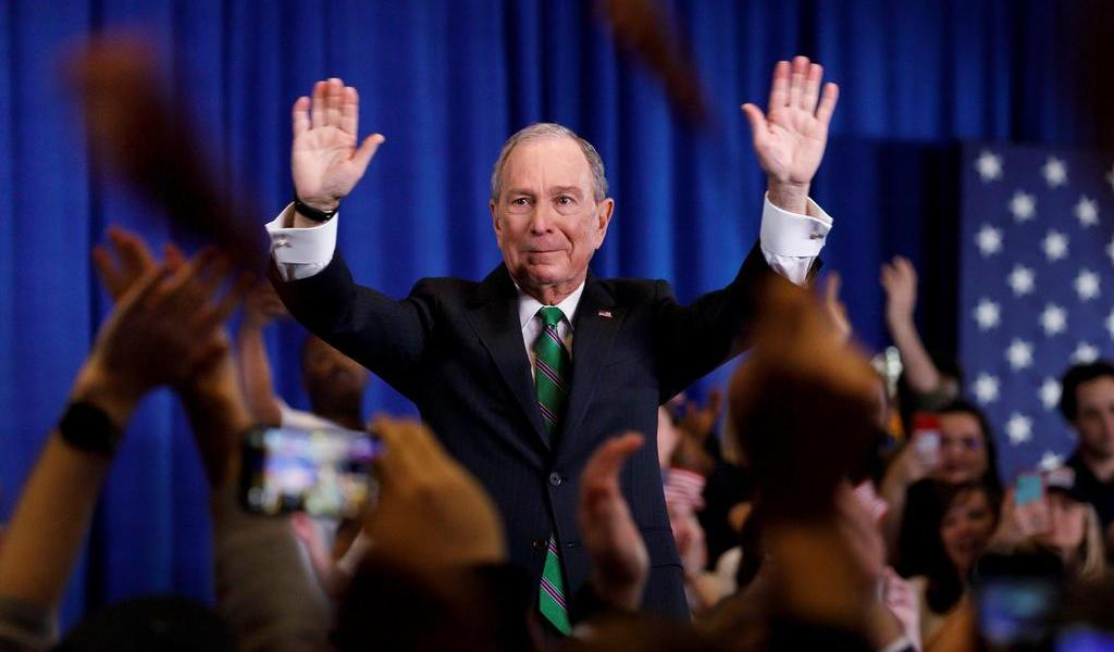 Bloomberg gastó 275 mdd en spots
