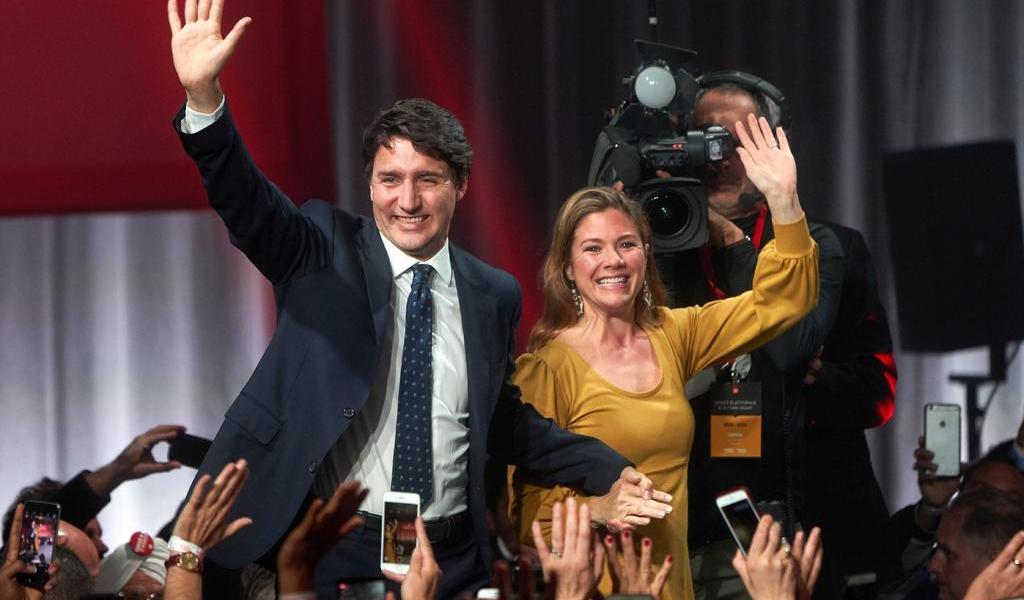 Sophie Trudeau, esposa de Justin Trudeau, da positivo a COVID-19