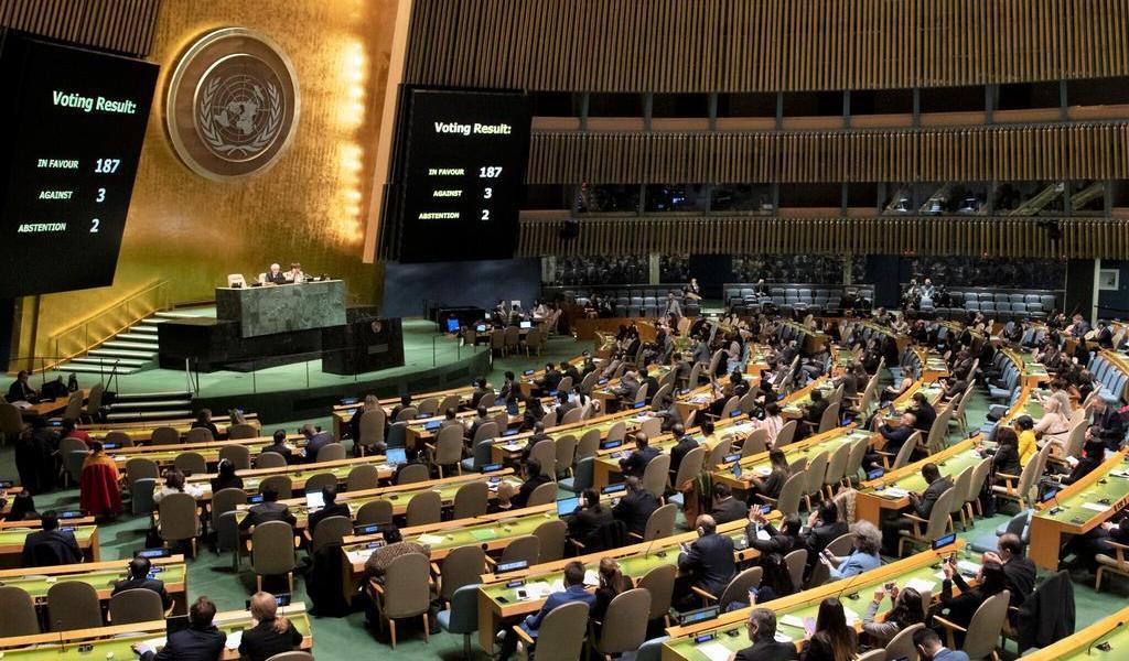 ONU limita al mínimo la presencia de empleados en su sede de Nueva York