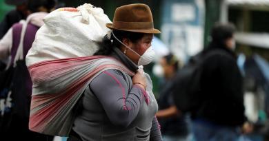 Suma Ecuador 5 muertos y 367 casos confirmados de coronavirus