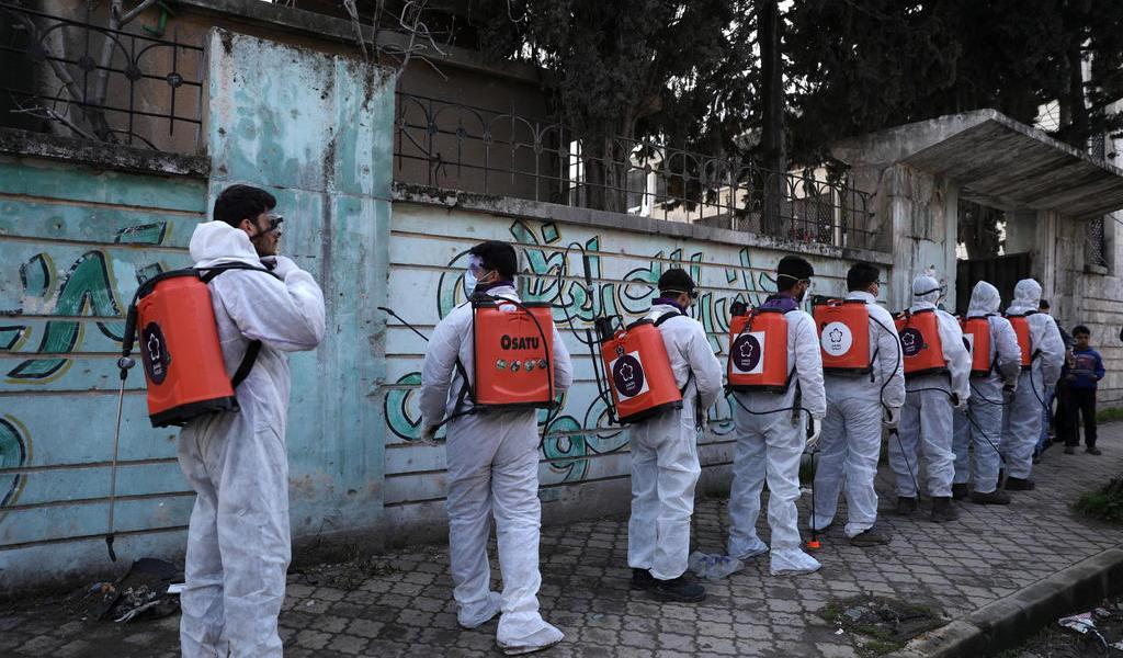 Siria se blinda ante el coronavirus en tiempos de guerra