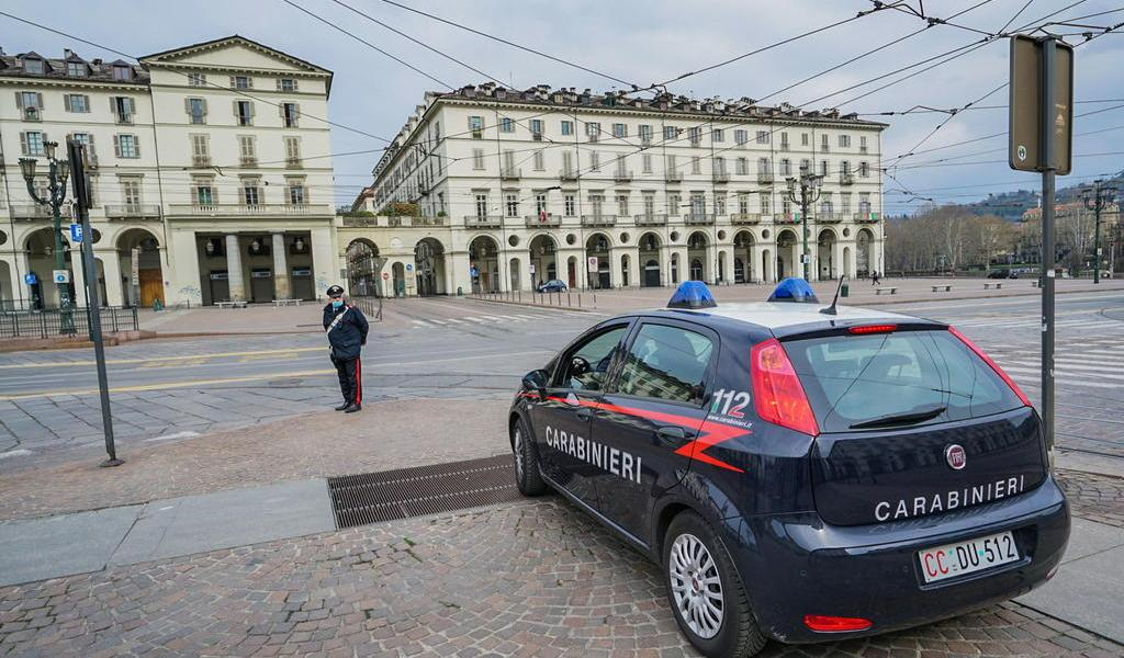 Italia endurece medidas contra quienes violen cuarentena por coronavirus