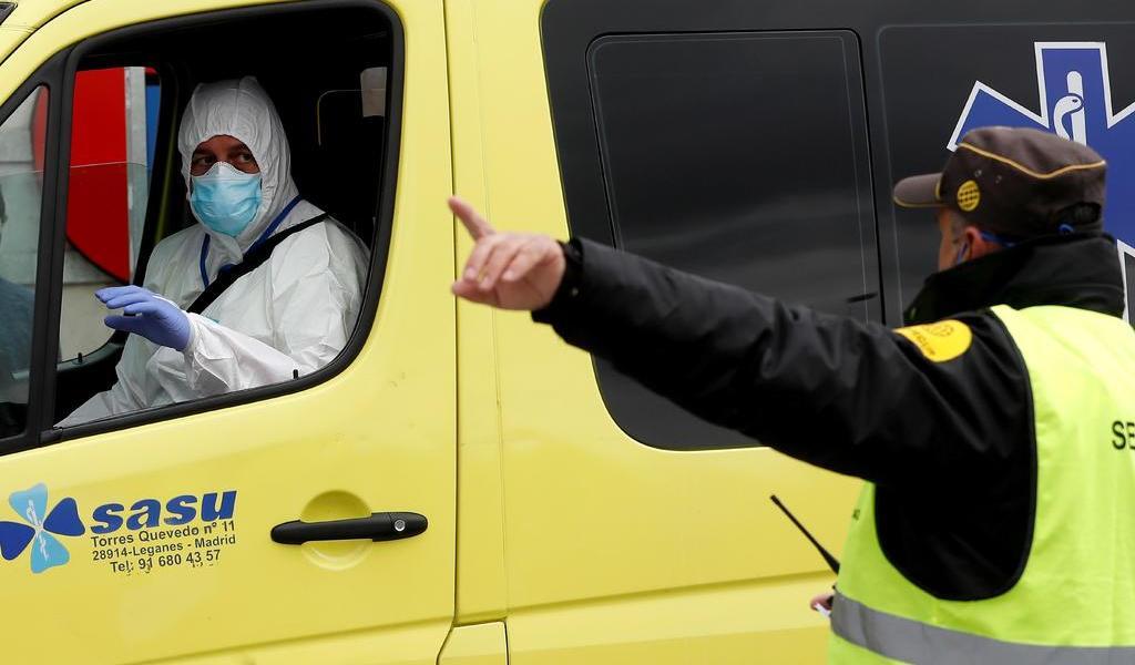 Supera España los seis mil 500 fallecidos con COVID-19