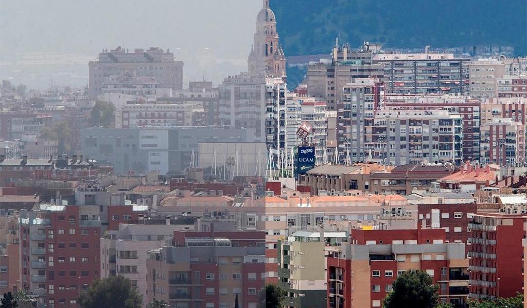 Baja hasta un 60 por ciento la contaminación en ciudades españolas por el COVID-19