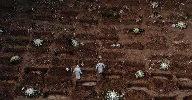 Decreta Brasil tres días de luto