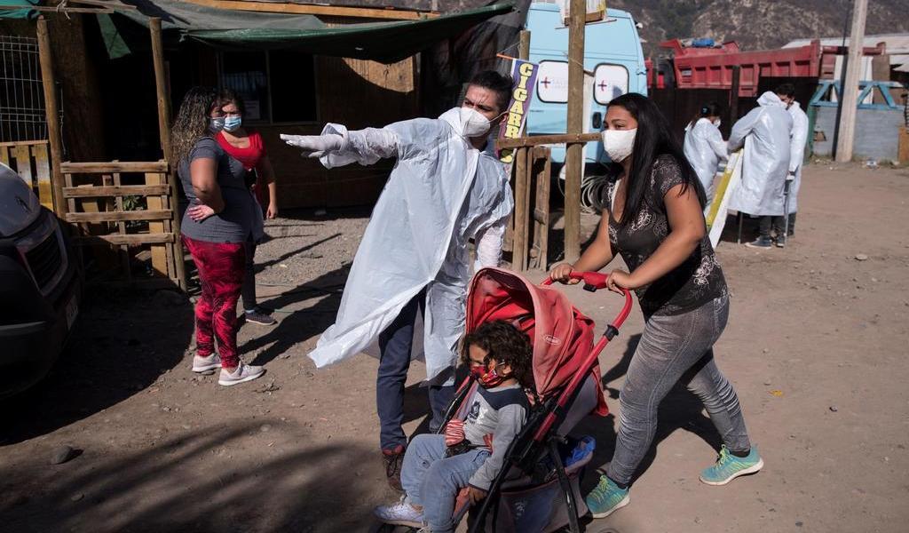 Alcanza Chile otro récord de casos diarios de COVID-19 con 1,658 contagios