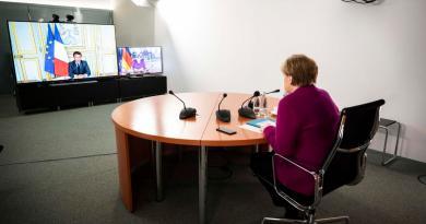 Merkel y Macron propondrán un fondo de 500 mme para reconstrucción
