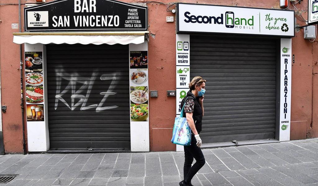 Registra Italia 161 muertos el último día