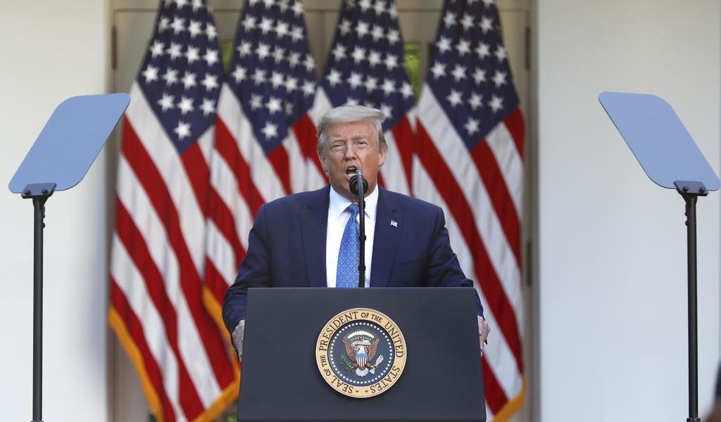 Anuncia Trump movilización de tropas para frenar protestas en EUA