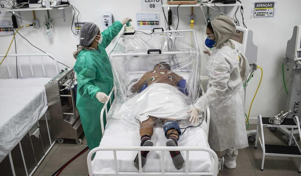 Reporta Brasil nuevo récord diario de muertos por COVID-19