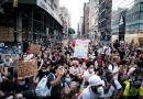 Manifestantes desafían el toque de queda y salen a protestar en Nueva York
