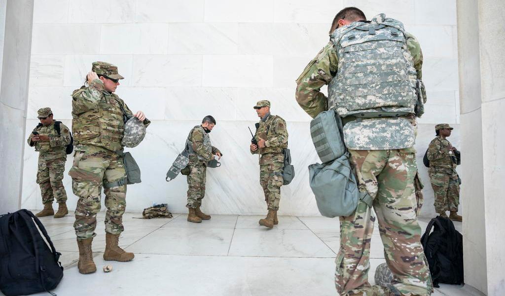 Ordena Trump retirada de Guardia Nacional en Washington, D.C.