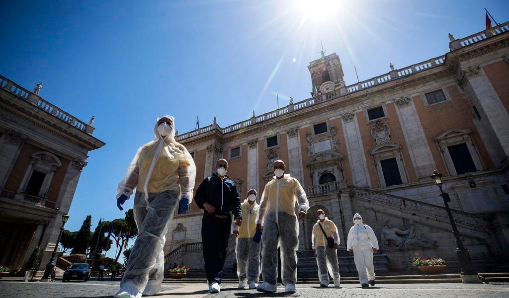 Suma Italia 34 muertes por COVID-19 en las últimas 24 horas