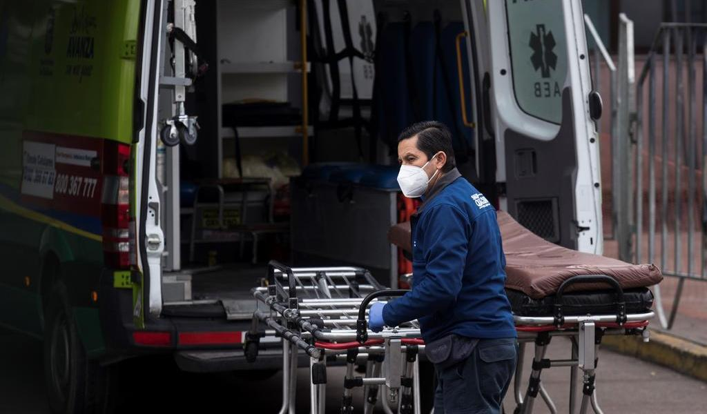 Supera Chile los 250 mil casos de COVID-19