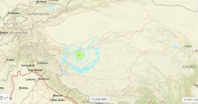 Terremoto de magnitud 6.4 sacude la zona fronteriza entre China e India
