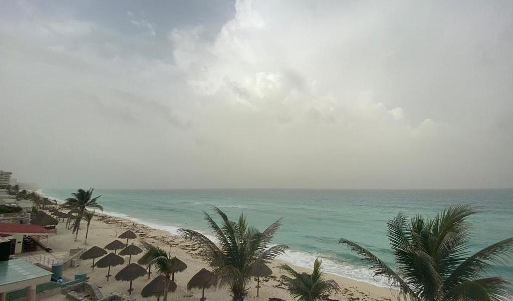 Nube de polvo del Sahara llega al Caribe