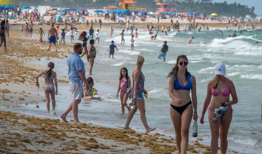 Registra Florida baja de casos de COVID-19; la cuenta sigue subiendo en Miami