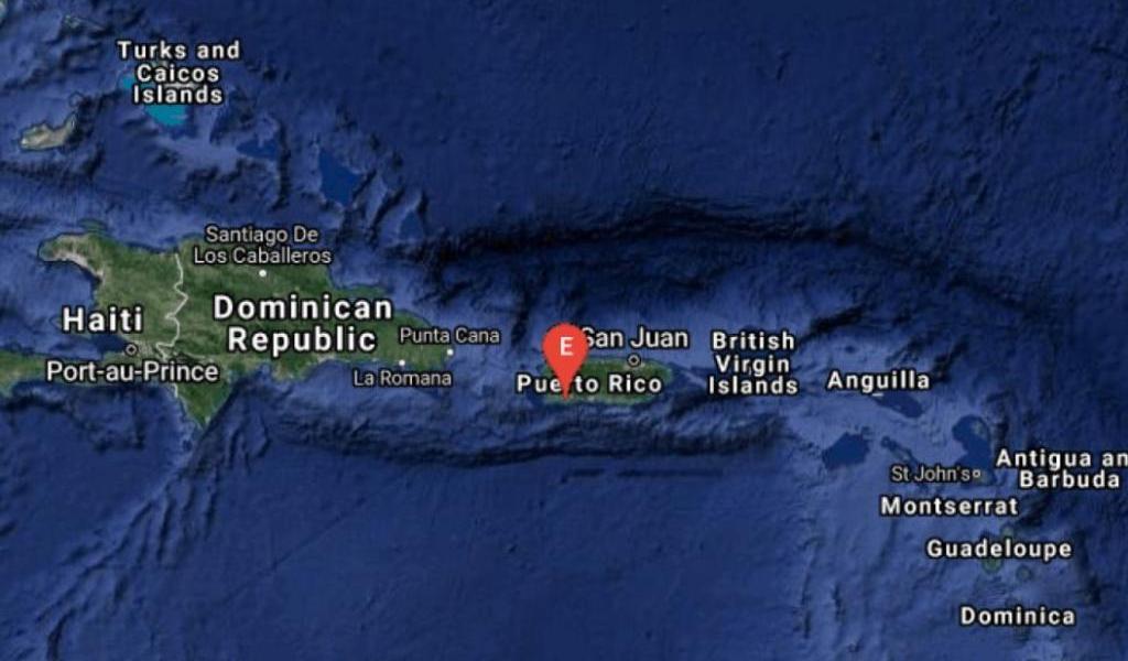 Sismo de magnitud 5.1 sacude la costa sur de Puerto Rico