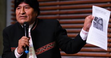 Acusa Fiscalía de Bolivia al expresidente Evo Morales de terrorismo