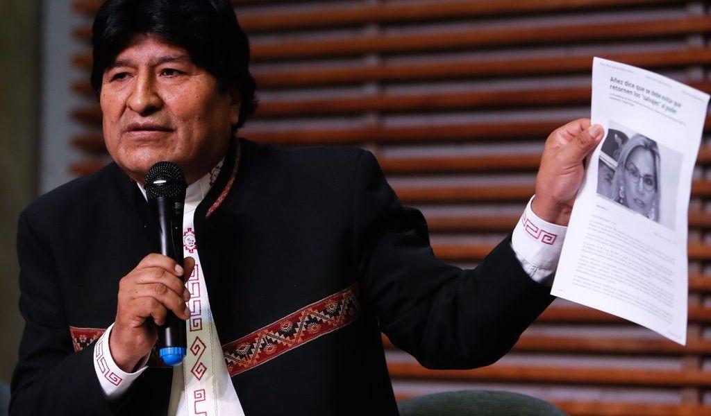 Acusan a Evo Morales de terrorismo