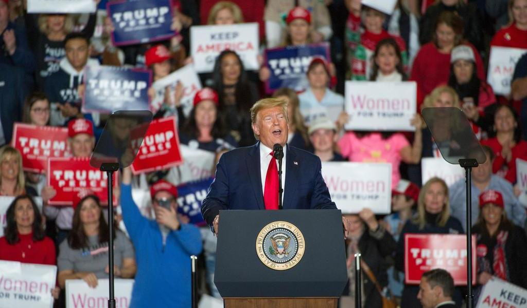 Por tormenta tropical, Trump cancela su segundo gran mitin en plena pandemia