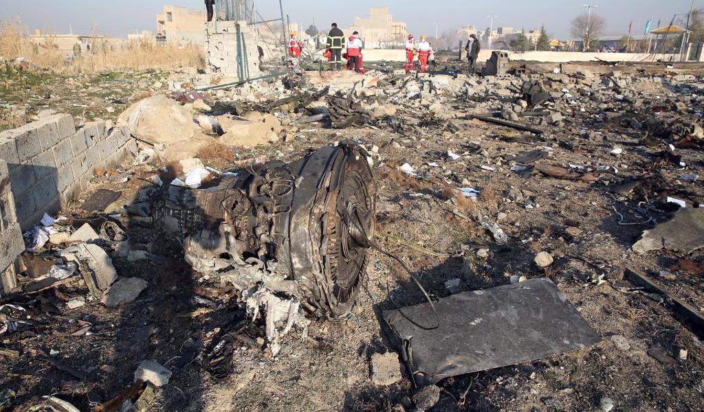 Detalla Irán causas que condujeron a derribo de avión ucraniano