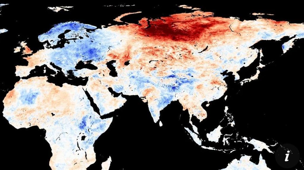 Cambio climático provoca ola de calor en Siberia