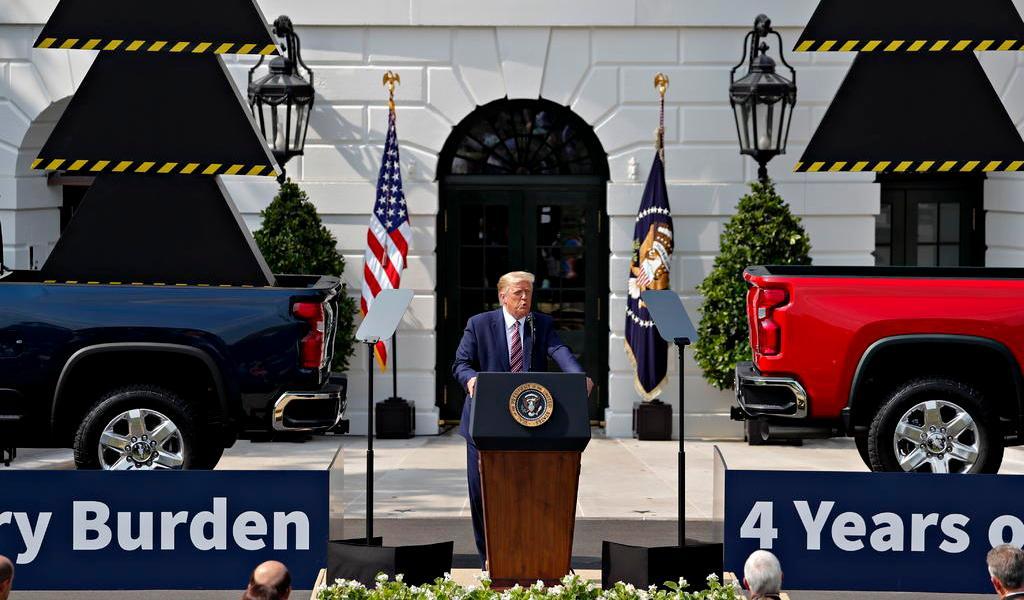 ¿Por qué no hablan de México?, reclama Trump a medios sobre cobertura de pandemia