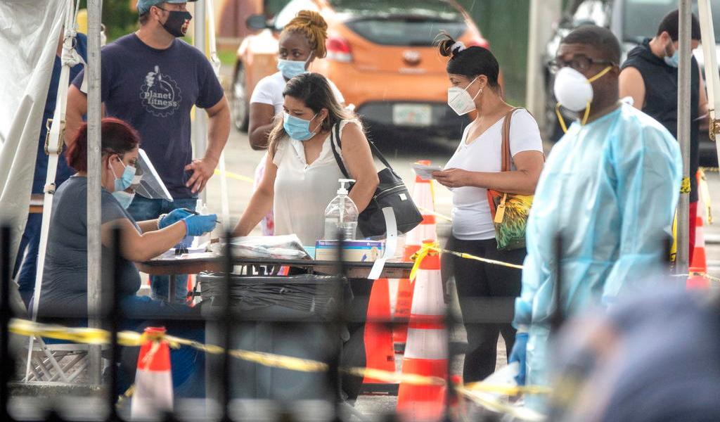 Suma Florida más de 9 mil casos de COVID-19 en las últimas 24 horas