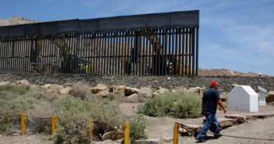 Aclara EUA que muro fronterizo no fue derribado por 'Hanna'